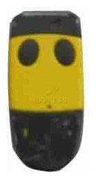 Télécommande  CARDIN S449 QZ2 YELLOW