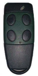 Telecommande CARDIN S449-QZ4-GREEN