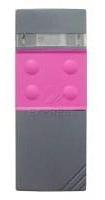 Télécommande  CARDIN S48-TX4 30.875 MHZ PINK