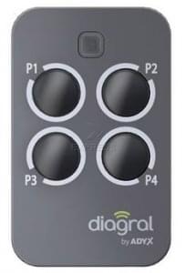 Telecommande DIAGRAL DIAG44MCX