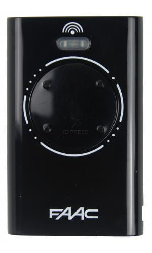 Telecommande FAAC XT4 868 SLH BLACK