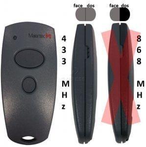 Telecommande MARANTEC D302-433
