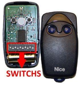 Telecommande NICE FLO2 (SWITCHS)