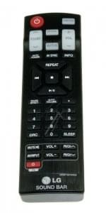 Telecommande LG AKB73575422
