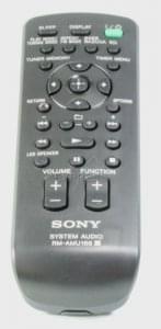 Telecommande SONY RM-AMU166