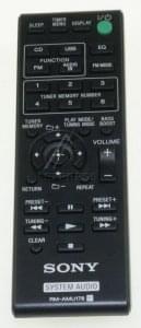 Telecommande SONY RM-AMU178 A1944589A