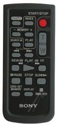Telecommande SONY RMT-831