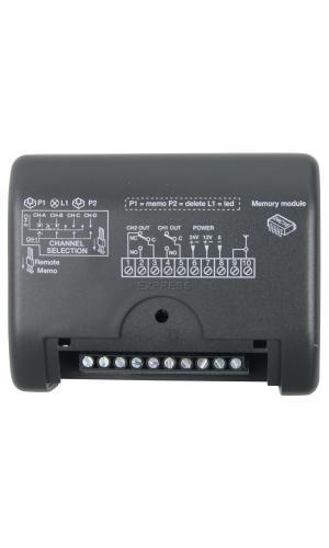 Telecommande CARDIN RECEPT RMQ449200 a 2 boutons