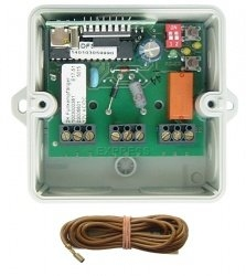Telecommande DICKERT RECEPT E17-40A201 a 2 boutons