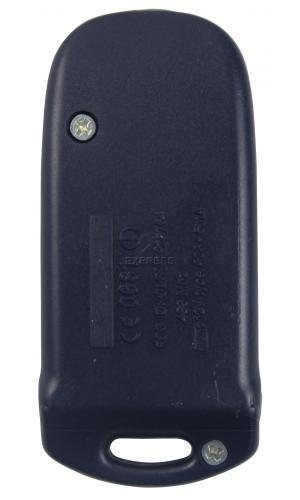 Telecommande ALLDUCKS 6203 12 BIT BLUE a 2 boutons