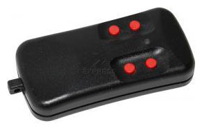 Telecommande ALLMATIC AKMY4 30.875 MHZ a 4 boutons