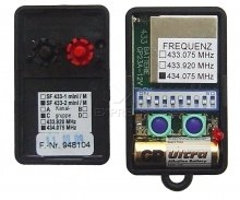 Telecommande ANSONIC SF 433-2 MINI 434.075 MHZ GRUPPE C a 2 boutons