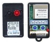 Telecommande ANSONIC SF 433-2 MINI GRUPPE C a 2 boutons