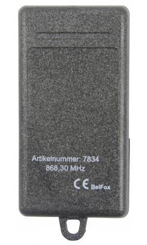 Telecommande BELFOX 868 MHZ 4K a 4 boutons