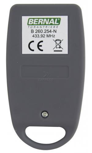 Telecommande BERNAL B 260.254-N a 4 boutons