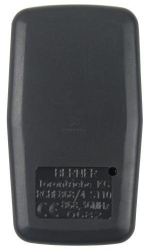 Telecommande BERNER RCBE-868 a 4 boutons