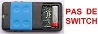 Telecommande CARDIN S435-TX4 BLUE a 4 boutons