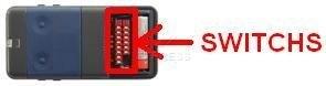 Telecommande CARDIN S438-TX2 a 2 boutons