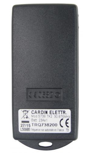 Telecommande CARDIN S738-TX2 a 2 boutons