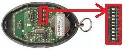 Telecommande DICKERT HS-868-21 a 4 boutons