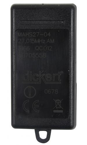 Telecommande DICKERT MAHS27-04 a 4 boutons