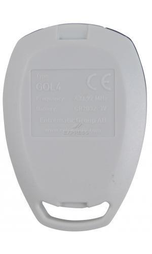 Telecommande DITEC GOL4 a 4 boutons