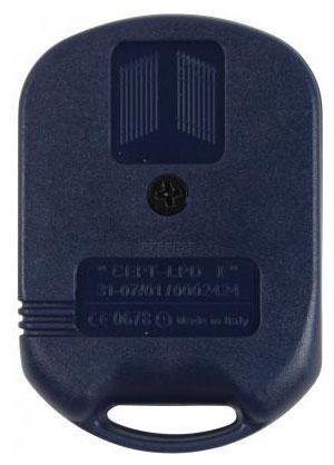 Telecommande FADINI ASTRO 433-2TR SMALL a 2 boutons