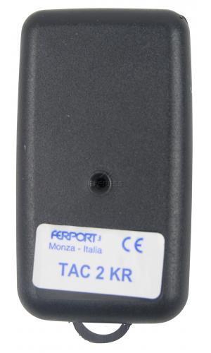 Telecommande FERPORT TAC2KR a 2 boutons