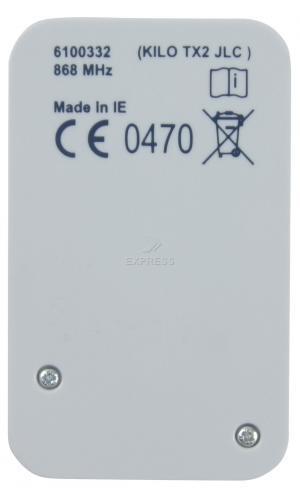 Telecommande GENIUS KILO TX2 JLC a 2 boutons