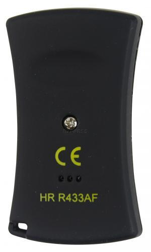 Telecommande HR R433AF4 a 4 boutons