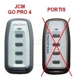 Telecommande JCM GO PRO 4 a 4 boutons