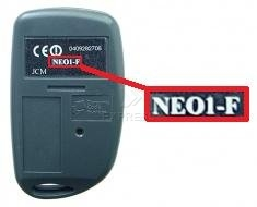 Telecommande JCM NEO1-F a 1 boutons