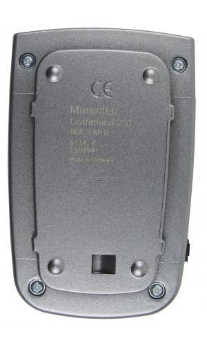 Telecommande MARANTEC C231-868 a 12 boutons