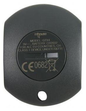 Telecommande MHOUSE GTX4 a 4 boutons