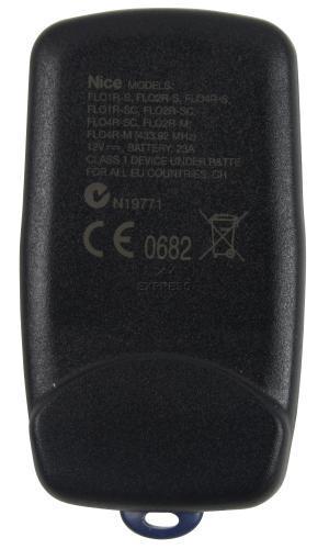 Telecommande NICE FLO4R-S a 4 boutons