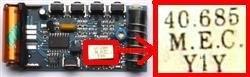 Telecommande PRASTEL MPSTL4 a 4 boutons