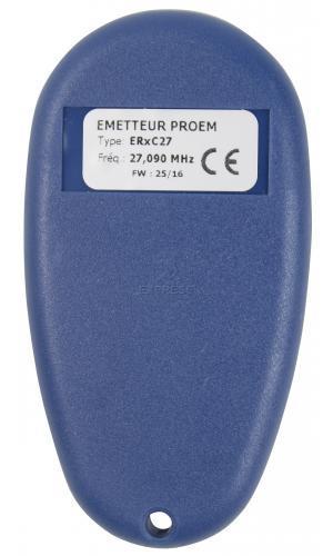 Telecommande PROEM ER2 C27 a 2 boutons