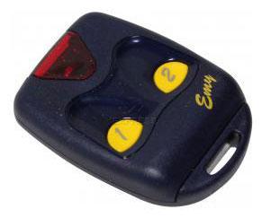 Telecommande PROGET EMY2F a 2 boutons