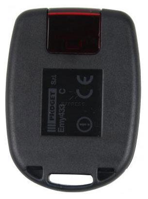 Telecommande PROGET EMY433 2C a 2 boutons
