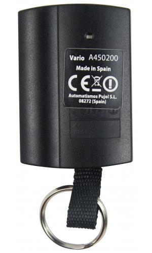 Telecommande PUJOL VARIO CODE BLACK a 3 boutons