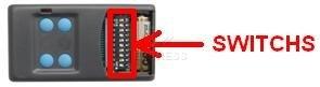 Telecommande SEAV TXS4 a 4 boutons