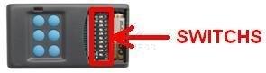 Telecommande SEAV TXS6 a 6 boutons