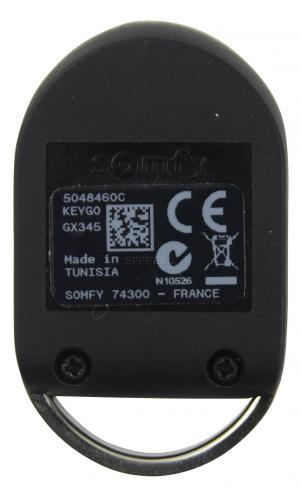 Telecommande SOMFY KEYGO T4 PRO RTS a 4 boutons