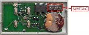 Telecommande TAU 250 T4 a 4 boutons