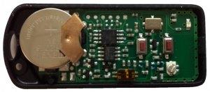 Telecommande TAU 250-K-SLIM-RP a 2 boutons