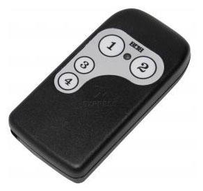 Telecommande TREBI QTU4 a 4 boutons