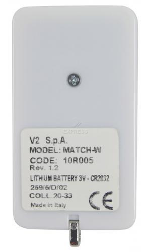 Telecommande V2 MATCH a 4 boutons