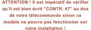 Telecommande V2 PHOENIX CONTRAT 47 4CH 868MHZ a 4 boutons