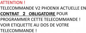 Telecommande V2 PHOENIX