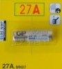 Piles 12V(27A) pour télécommandes de portail et garage